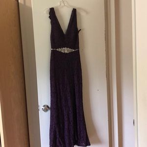 Juniors long dress. Size 5